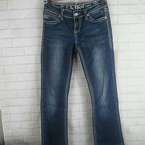 Girls size 14 L.A. Idol Jeans
